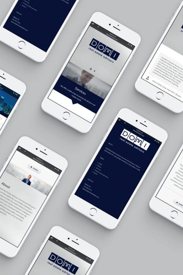 DoMi Real Estate Website